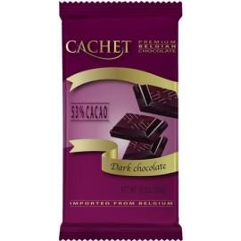 Cachet шоколад черный 53% (300 гр)