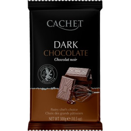 Cachet шоколад черный 54% (300 гр)