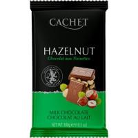 Cachet шоколад молочный с лесным орехом 32% (300 гр)