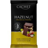 Cachet шоколад черный с лесным орехом 54% (300 гр)