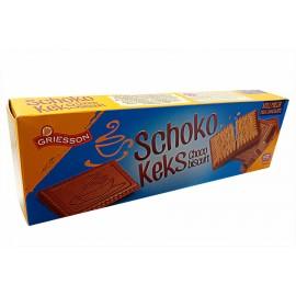 Печенье Griesson Schoco Keks dark 125гр