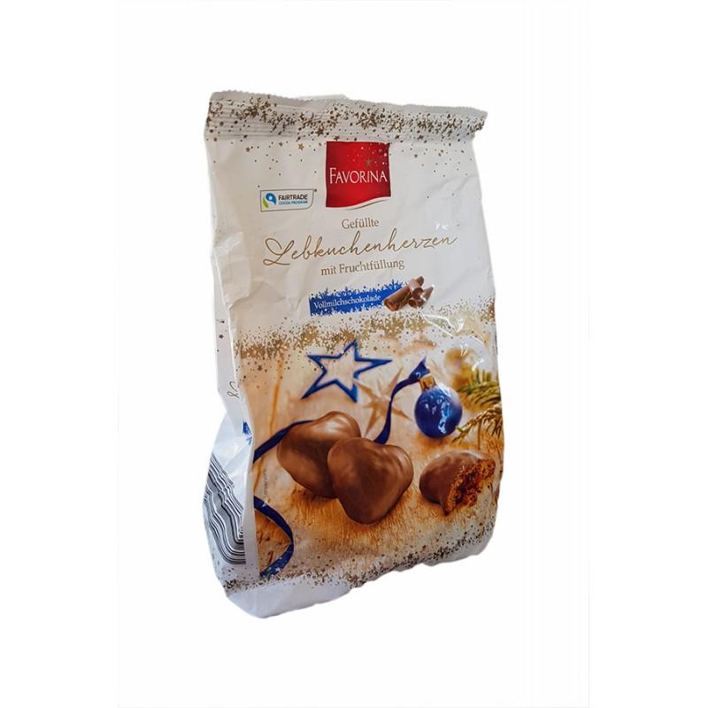 Пряники Favorina в молочном шоколаде 300гр