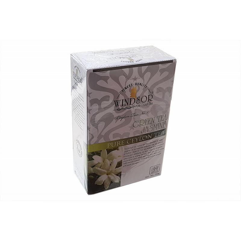 Чай зеленый Windsor jasmine 100 гр