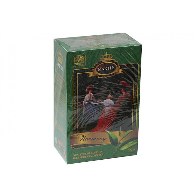 Чай зеленый Martle Gunpowder Harmony 100 гр