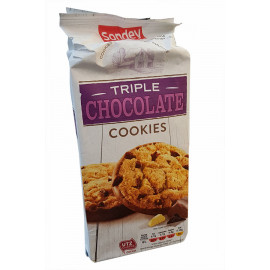 Печенье Sondey triple chocolate 200gr