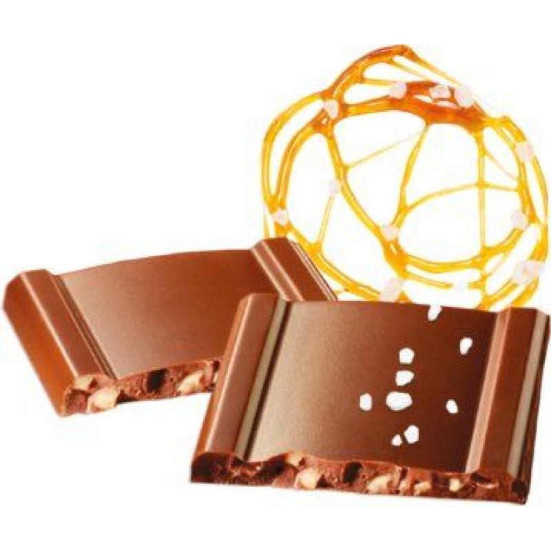 Cachet шоколад молочный карамель-морская соль 31% (100 гр)