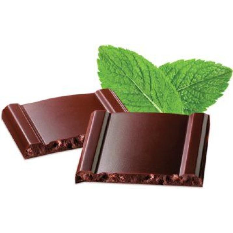 Cachet шоколад чорний крісп-м'ята 57% (100 гр)