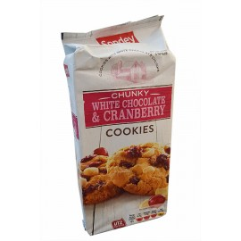 Печенье Sondey white chocolate&cranberry 200gr