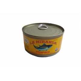 Тунец La Miranda в масле 185 gr