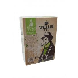Чай зеленый Wellis jasmin 100gr