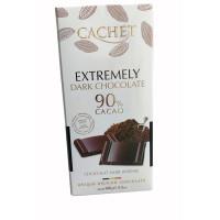 Cachet шоколад экстра черный 90% (100 гр)